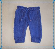 Ravelry: Marianna's Little Baby Trousers pattern by marianna mel Baby Doll Clothes, Doll Clothes Patterns, Clothing Patterns, Babies Clothes, Doll Patterns, Baby Boy Knitting Patterns Free, Baby Patterns, Free Knitting, Crochet Patterns