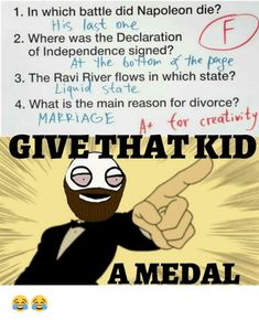 Give a medal