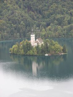 The Lake Bled in Slovenia | Top 10 Amazing Lakes and Valleys to Visit