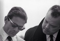 Pier Paolo Pasolini and Orson Welles