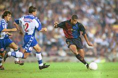 Rivaldo ante Cristóbal Parralo