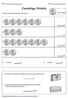 Convert nickels into cents