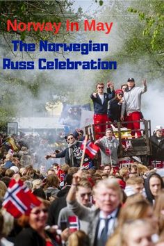 The Russ Celebration in Norway is in many ways like the American Spring Break, with many partaking in an excess of sex, alcohol and silliness. Constitution Day, Backpacking South America, Digital Nomad, Luxury Travel, Travel Around The World, Spring Break, Travel Guides, Norway, Travel Inspiration
