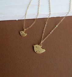 mother daughter necklaces gold - Google Search