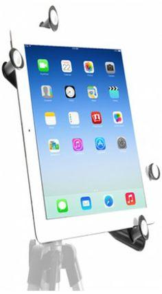 G7 Pro Universal Tablet Tripod Mount - Fits any standard tripod head 1/4-20 thread
