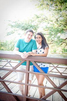 One Year Anniversary.  Herman Park. Houston, TX  Photos By: Fleurish Imagery