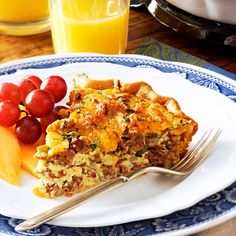Italian Sausage Quiche Recipe -This popular quiche recipe is made with mild Italian sausage, made especially for us by our local butcher. For the best flavor, choose sausage that is not too heavily spiced. —Lee Ann Miller, Millersburg, Ohio