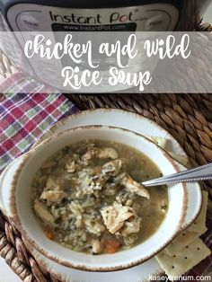 "TweetEmail TweetEmail Share the post ""Instant Pot Chicken and Wild Rice Soup Recipe"" FacebookPinterestTwitterEmail I'm determined to learn how to use my Instant Pot as I know it could make meal planning easier. My hubby and son aren't feeling well, so I made Chicken and Wild Rice Soup in my Instant Pot last night. Itcontinue reading..."