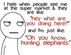 I Hate When People