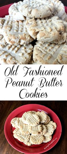 These old fashioned peanut butter cookies are a class easy cookie recipe. This is a great small batch cookie recipe which we love. A cold glass of milk is the perfect compliment to this recipe! #cookie #peanutbutter #easycookie #smallbatch