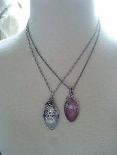 Spoon Necklace Junk Princess by joniem on Etsy, $32.00