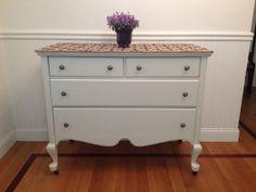Vintage 1930s Kreiss Victorian Dresser Solid Oak by UpcyDaisy, $450.00