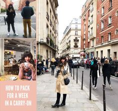 A couple years ago I traveled to Paris and London for 7 days and did it all stylishly in a carry-on. Here are all my tips on how to pack in a carry-on! #easy #lifehack #packing #travel