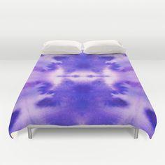 #duvet cover #blue #purple #watercolor