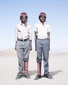 Captivating Portraits of Namibia's Fashionable Herero Tribe by Jim Naughten