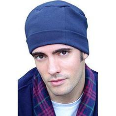 9cd3c936776 Mens Night Cap - 100% Cotton Sleep Cap for Men - Sleeping Hat for Man