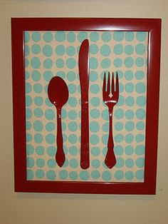 upcycle old dinnerware with paint and a frame (love the idea, maybe not in this color combo though) to fill spot above kitchen window? Home Decor Furniture, Diy Home Decor, Upcycle Home, Pinterest Crafts, Art Folder, Old Frames, Moving House, Diy Art, Home Projects