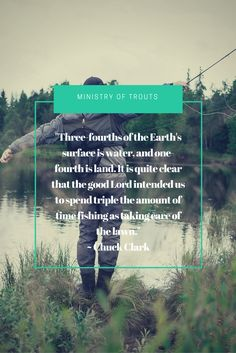 Fly fishing quote. Do you like trout as much as we do?