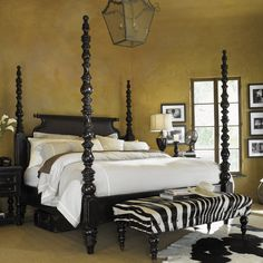 Tommy Bahama Home Kingstown Four Poster Bed & Reviews | Wayfair