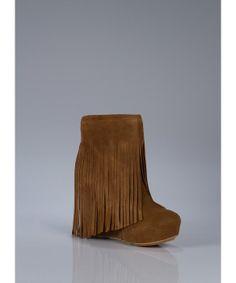 Koolaburra Veleta II Fringe Wedge Boot