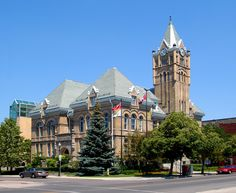 City Hall in St. Thomas, ON