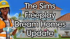 The Sims Freeplay Dream Homes Update | Rachybop
