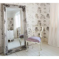 Buy the beautifully designed Double-framed Marquise Silver Mirror, by The French Bedroom Company. Shop 24 hours a day for Effortless Luxury Online. Bedroom Chair, Bedroom Decor, Bedroom Furniture, Bedroom Seating, Bedroom Ideas, Glass Furniture, Refinished Furniture, Bedroom Inspo, Bed Room