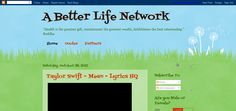 A Better Life Network is a health & wellness blog and affiliate marketing portal.