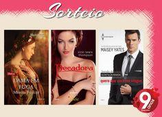 Sorteio Romances Harlequin