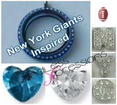 New York Giants Inspired locket