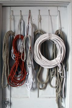 rope-- do we have a wall where we could do something like this!?