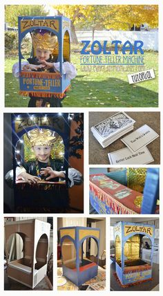 Everyday Mom Ideas: Zoltar The Fortune Telling Machine (Costume Tutorial)