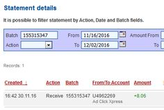 Here is my Withdrawal Proof from AdClickXpress. I get paid daily and I can withdraw daily. Online income is possible with ACX, who is definitely paying - no scam here. ACX Monsoon is Now #1 Online! Earn 2% a day for Life, with No Restarts,No Panels, and No Variable DSC Rates! I'm Earning 2% Daily for Life! NOW is Your chance to Make Money with ACX! I WORK FROM HOME less than 10 minutes and I manage to cover my LOW SALARY INCOME. If you are a PASSIVE INCOME SEEKER, then AdClickXpress (Ad…