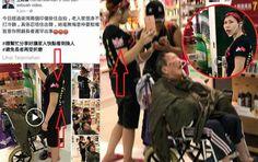 Video: TKW Ini Viral di Hong Kong Karena Biarkan Nenek Yang Dijaga Kedinginan Demi Selfi