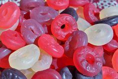Lifesavers Gummies come in several varieties. This one is called Wild Berries.