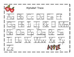 math worksheet : capital and small letter tracing worksheet  tareas  pinterest  : Abc Tracing Worksheets For Kindergarten