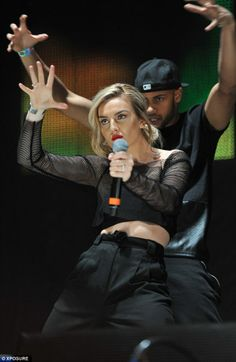 Perrie Edwards.Gotta love the face she's making