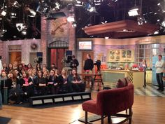 A couple editors from @rachaelraymag visited a taping of @rachaelrayshow!