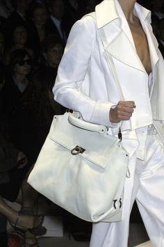 Salvatore Ferragamo Love me some white suit!