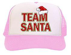 Team Santa Logo Trucker Hat Cap