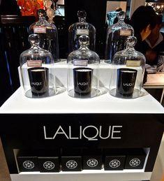 New Candles from Lalique @ David Jones Market Street Sydney