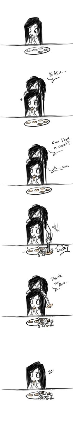 Jeff, that's not how you pick up cookies by lexet on DeviantArt