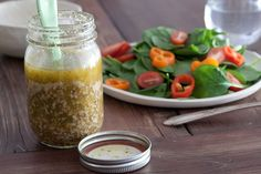 This is a great dressing base. I add a teeny bit of tarragon and a squirt of honey, but it's really nice as is.