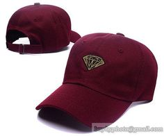 A1504 Diamond Caps Golf Baseball Caps Hiphop Hats Wine only US$6.00 - follow me to pick up couopons.