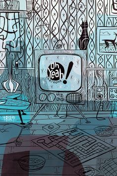 Oh Yeah_ TV illustrated by Tim Biskup by Fred Seibert