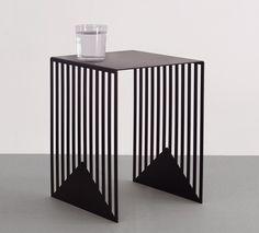 Zick Zack Table by poland designer Olga Bielawska. Bauhaus, Buy A Pool, Coffee Desk, Coffee Tables, Sewing Desk, Folding Desk, Pool Table, Display Screen, Own Home