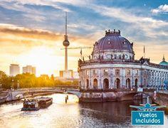 Berlin y Praga 530 € 7 dias con vuelos, tren y hotel y city tour