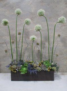 Organic garden screen