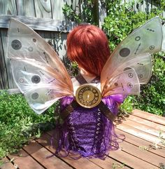 Time Machine Steampunk Wings