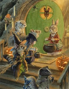 It's Halloween when Jimmy Squirrel goads Paisley as the treehouse contest heats up. Can Paisley finish her treehouse in less than a month when she hasn't even started to build? by Chris Dunn
